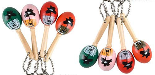 HAPPY DEALS ~ 24 pc - Maraca Keychains - Fiesta / Cinco de Mayo Party Favors