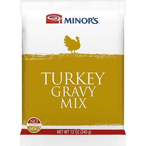 Minor's Gravy Mix, Turkey, 12 Ounce Turkey Mix