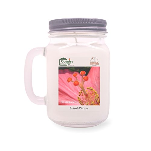 Country Jar Island Hibiscus Soy Candle (14.5 oz. Mason Jar) Spring Pick-3 Sale! See Details.