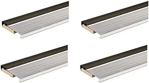 Fоur Расk 36-Inch TH397 Fixed Vinyl Sill Inswing Aluminum Mill M-D Building Products 78691 1-1//8-Inch by 5-3//4-Inch