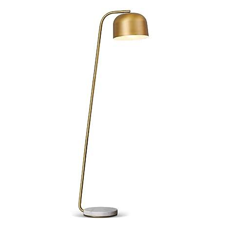 KQKLQQ Lámpara de pie de Metal, luz Derecha de Brazo ...
