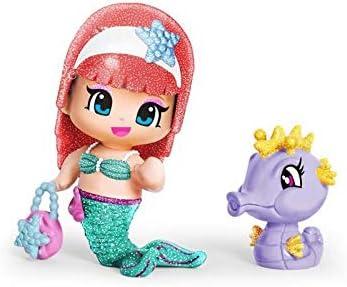 PINYPON Sirene et hippocampe - Violet