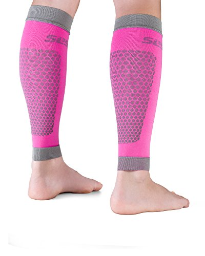 SLS3 Compression Sleeves | Athletic Lower Leg Calf Guards | Performance Support for Shin Splint & Calf Pain Relief | Calves |German Designed (M (Calf 12.5-15