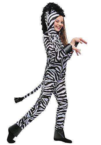 (Wild Zebra Kids Costume Small)