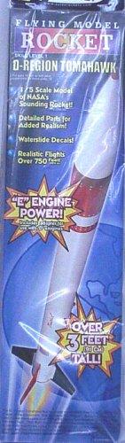 Estes 2037 D-Region Tomahawk Flying Model Rocket Kit (Tomahawk Rocket Model)