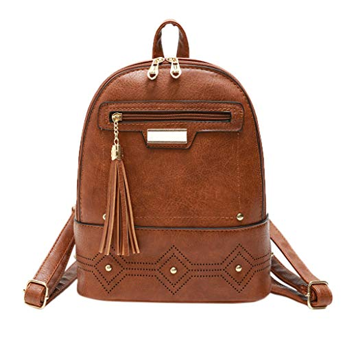 DDKK backpacks 2019 New Sale Lady Fashion Wild Backpack Casual Rucksack PU Small Bohemian Bag Vintage Ethnic Tassel Hollow Trend Backpacks