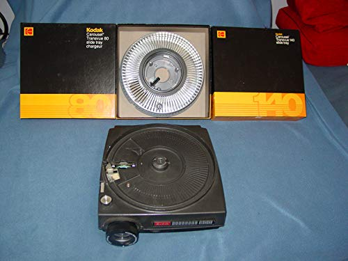 Kodak Carousel 800 35mm Slide Projector [Timer, Dual Brightness, Remote Option]