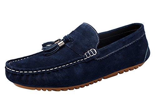 Casuale Loafers On Guida da di Mocassini Blu Scuro Nero Blu Mocassini Eleganti   7afcee