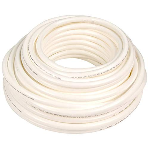 Soft Bendable High-Temperature White Silicone Rubber Tubing for High-Purity Applications Inner Diameter 5//8 Outer Diameter 7//8-5 ft