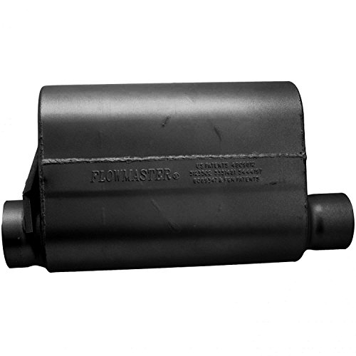 Flowmaster 53545-10 Alcohol Race Muffler - 3.50 Offset IN / 3.00 Same Side OUT - Aggressive Sound