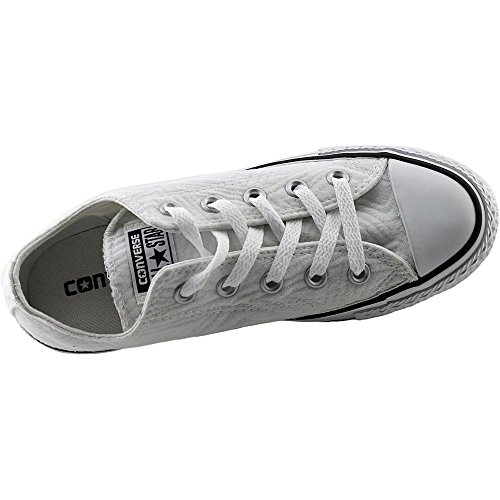 Converse Kvinners Chuck Taylor All Star Lo Jersey Vattert Sneaker Hvit