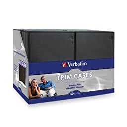 2K76820 - Verbatim DVD / Blu-Ray Video Trim Case