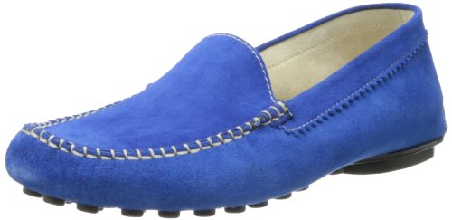 French Sole FS/NY Women's Stella Suede Slip-On Loafer - C...