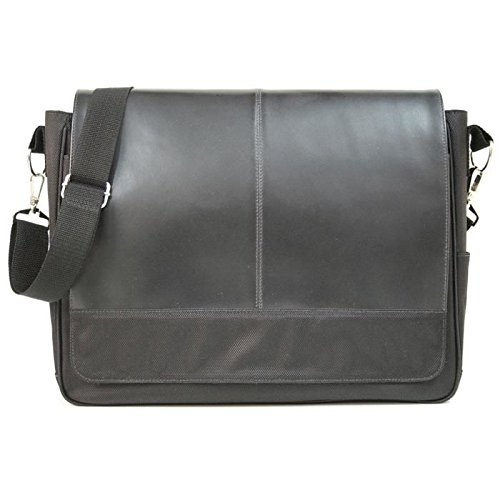 Personalized Royce Leather Messenger Bag