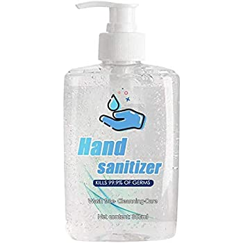 Samury Antibacterial Hand Sanitizer Gel with Pump No Rinse Foam Hand Soap Gel Kill 99.99% of Dirty Stuff Hand Sanitizers Alcohol-Free Wash-Free Disinfecting Cleaner 300ml Antibiotics and Antiseptics First Aid Hand Sanitizers Health and Household Health Care