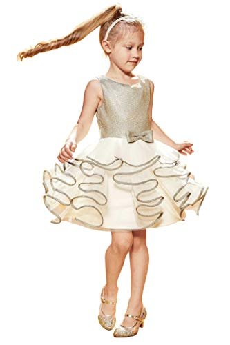 Chasing Fireflies Girls Glitzy Ruffle Dress -