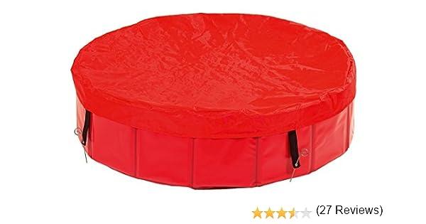 Karlie Doogy Pool Cubierta Piscina, Rojo, Ø 120 cm, M, 8: Amazon ...