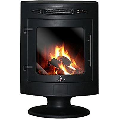 Lava Heat Indoor Electric Fireplace Heater with Built-In Safety Features and Remote Control Included