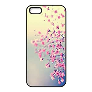 Pink Flowers Cell Phone Case for Iphone 5s