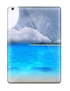 For Ipad Air Premium Tpu Case Cover Fantasy Beach Protective Case wangjiang maoyi