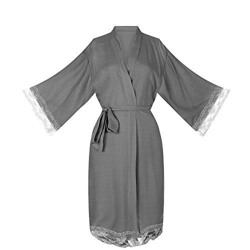 oriental silk dressing gown - 6