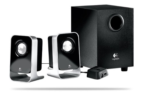 Logitech LS21 2.1-Channel Stereo Speaker System with Subwoofer - Charcoal 980-000058   B0015C30J0