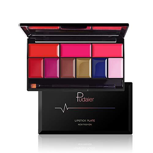 Matte Lip Contour Kit - Lipstick Palette Set Includes 9 Lip