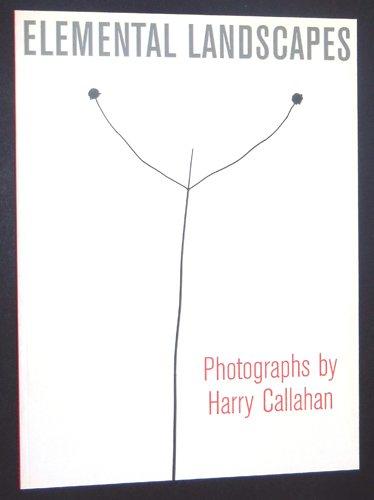 Read Online Elemental Landscapes: Photographs By Harry Callahan pdf epub