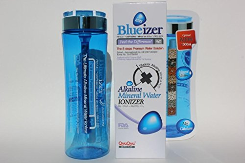 QQ Blueizer(alkaline water bottle), 1000ml