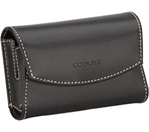 Leather Case by Nikon for Coolpix S3000, S6000, S710, S700, S600, S640, S630, S610, S570, S560, S550, S520, S510, S500, S200, S210, S220, S230