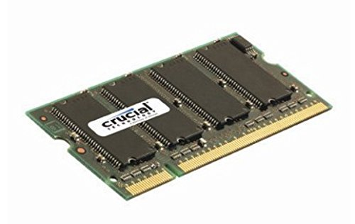 Non Ecc Cl5 200 Pin (Crucial 2GB Single DDR2 667MHz (PC2-5300) CL5 SODIMM 200-Pin Notebook Memory Module CT25664AC667)