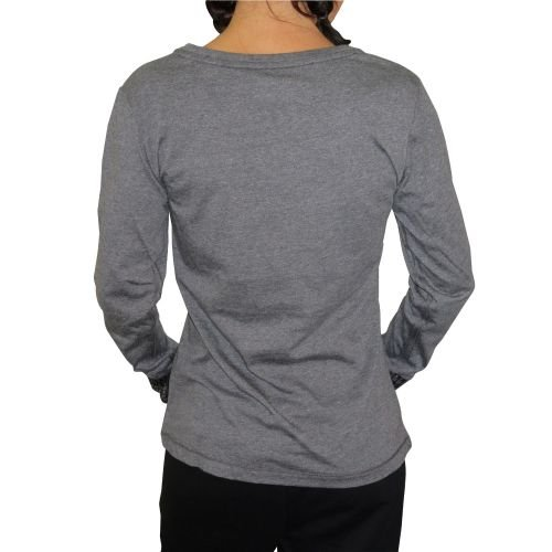 Lotto Indy II Tee LS W - Camiseta para mujer Gris (GRY DPM)