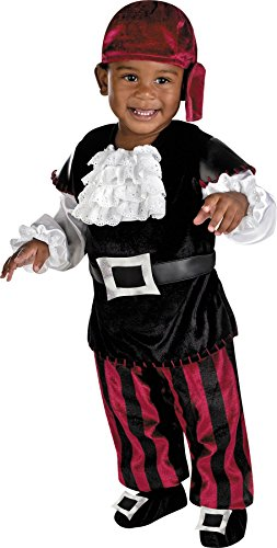 Puny Pirate Costumes (Toddler Boy's Costume: Puny Pirate 12 To 18 Months)