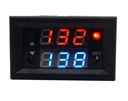 Amazon price history for 1 PCS 12V T2302 Timing Delay Relay Module Cycle Timer Digital LED Dual Display (5V/24V over 100pcs can be customized) 0-999 seconds