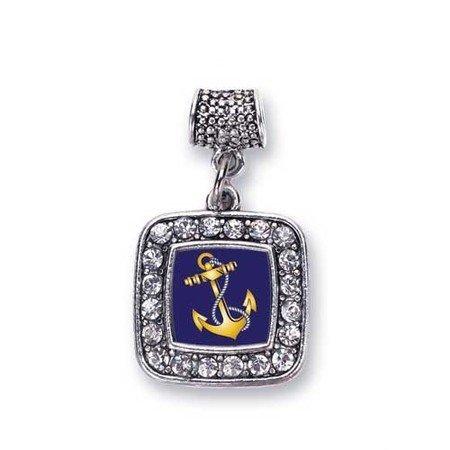 4c3796f8c Navy Coast Guard Anchor Sailor & Military Charm Fits Pandora Bracelets &  Compatible with Most Major