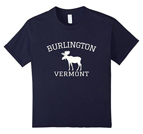 Kids Burlington Vermont T-shirt - Moose 8 - Burlington With Kids Vermont
