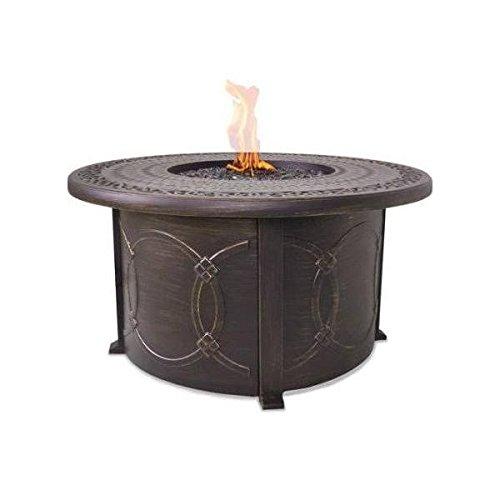 Endless Summer LP Gas Outdoor Fire Bowl with Cast Aluminum Mantel