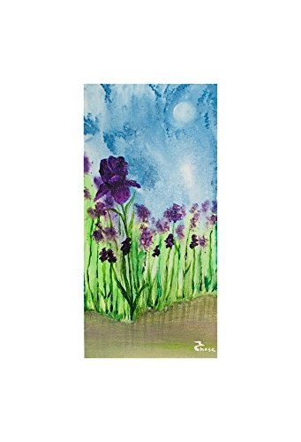 Original Paintings from by Artist Flowers Iris by Deja vu By Marcia Chase