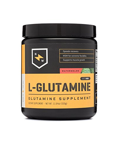 New Whey Nutrition L-glutamine Post Workout Recovery Supplement Mix, Watermelon, 330 Gram