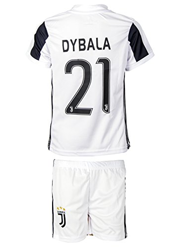 Juventus #19 Dybala 2017 / 2018 Home - Kids Jersey & Shorts - Youth Sizes (X-Large / 10-11 ages)
