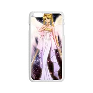 White Girl With Wings Fashion Comstom Plastic case cover For Iphone 6