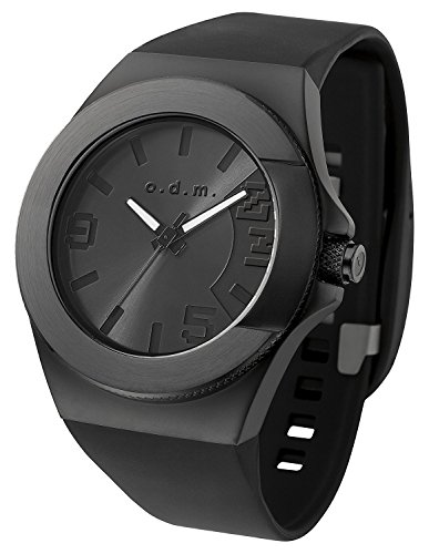 odm-unpretentious-iii-unisex-casual-watch-waterproof-sport-band-black