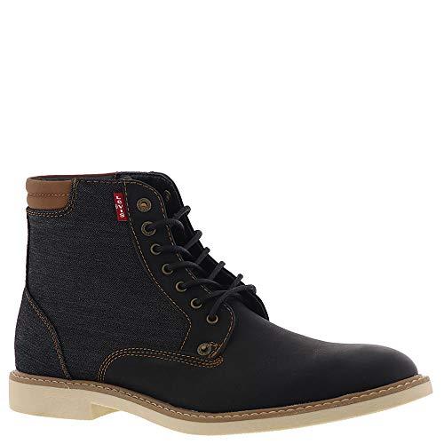 Levi's Men's Winham Denim Boot,Black/Denim,10 -