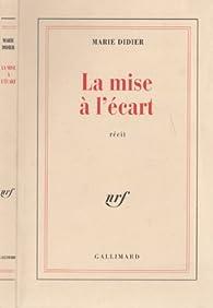 Book's Cover ofLa Mise à l'écart