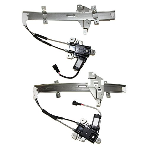 Intrigue Olds (Alxiang of 2 Front Driver and Passenger Side Lift Power Window Regulators Assembly w/ Motor For 97-05 Buick Century & 97-04 Buick Regal & 98-02 Olds Intrigue)