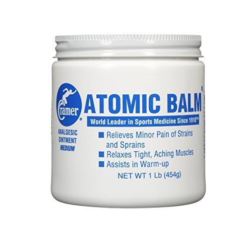 Cramer Atomic Balm, Medium Strength Warming Pain Reliever for Relieving Minor Pain From Strains & Sprains, Relaxing Tight Muscles, & Assisting in Warm-Up for Athletes, Relieve Joint & Arthritis (Cramer Atomic Balm)