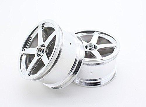Chromed Wheel - Toxic Nitro - Rear Chromed Wheel