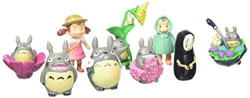 OliaDesign My Neighbor Totoro Figure Set (9 Piece), Multicolor