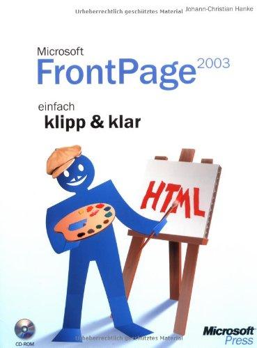 Microsoft Office FrontPage 2003 - einfach klipp & klar
