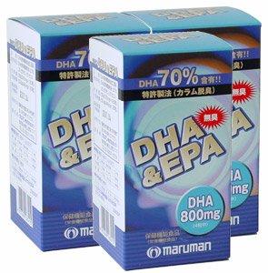 マルマン 無臭DHA-EPA 540mg×120粒 3セット B003VTSUYK